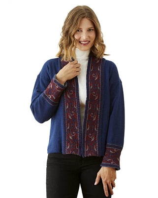 Azure Reversible Sweater