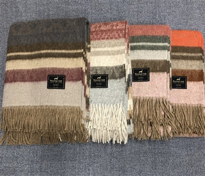 Cherokee Alpaca & Wool Throw