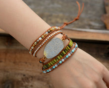 Load image into Gallery viewer, Costa Rica Stone Bracelet