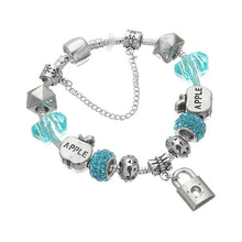Load image into Gallery viewer, Norway silver charm Bracelet