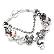 Load image into Gallery viewer, Sydney silver Charm Bracelet