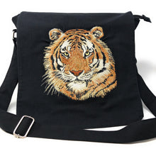 Bags - Messenger Bag Orange Tiger
