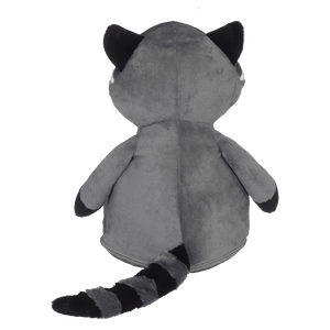 Personalized Stuffed Animal Raccoon Custom Embroidered