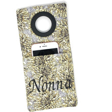 Phone Holder - Personalized Cell Phone Holder, Yellow Flowers