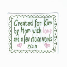 Quilt Labels - Large Rectangle Label For Crochet 4x5