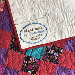 Quilt Labels - Made For You Oval 4x5