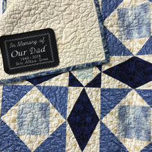Quilt Labels - Made With Love Large Rectangle