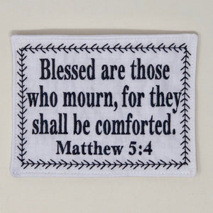 Quilt Labels - Personalized Bible Verse Quilt Label