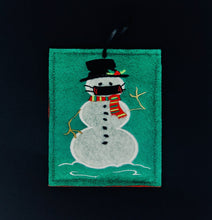 Snowman Ornament With Mask 2020 Christmas Ornament COVID 19