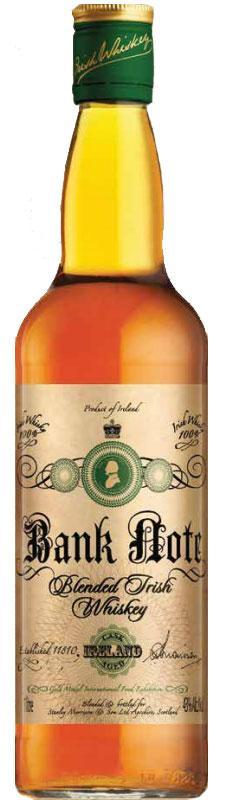 Bank Note 5Yrs Blended Irish Whisky 750ml