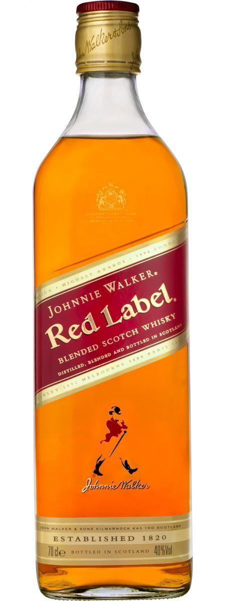 Johnnie Walker Red Blended Scotch Whisky 750ml