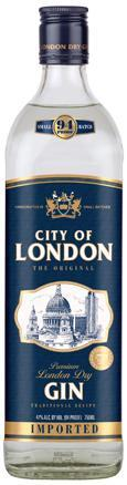 City Of London Dry Gin 750ml