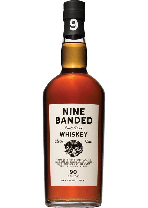 Nine Banded Small Batch Whiskey 750ml