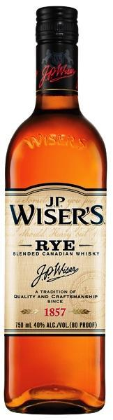 Wiser's Canadian Rye Whisky 750ml