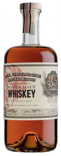 St. George Single Malt 35th Anniversary 750ml