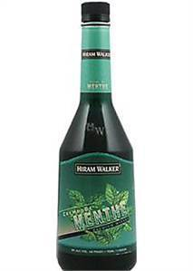 Hiram Walker Creme De Menthe Green 750ml