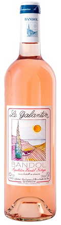 Dom. Le Galantin Bandol Rose 750ml