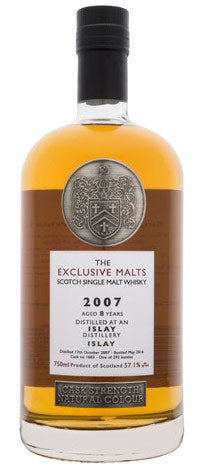 Exclusive Malts An Islay 8 Yrs 2007 114.2 Proof