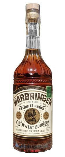 Warbringer Mesquite Smoked Southwest Bourbon Whiskey 750ml