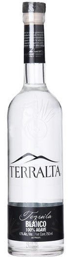 Terralta Tequila Blanco 80 Proof 750ml