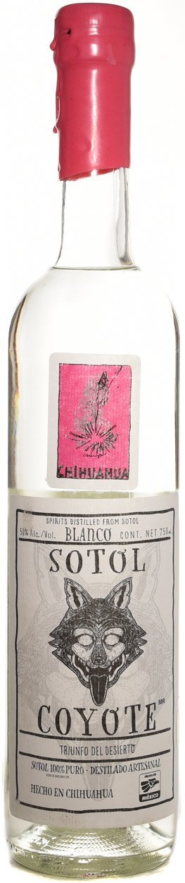 Sotol Coyote Chihuahua Pink Label 750ml