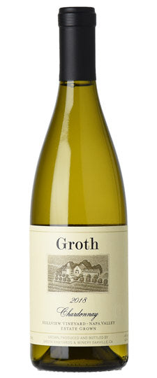 Groth Chardonnay Hillview Vyd Napa Valley 2018 750ml