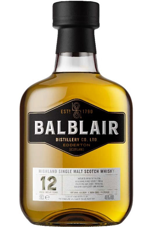 Balblair 12Yr 92 Proof 750ml
