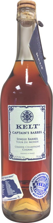 Kelt Captain's Barrel Cognac 750ml