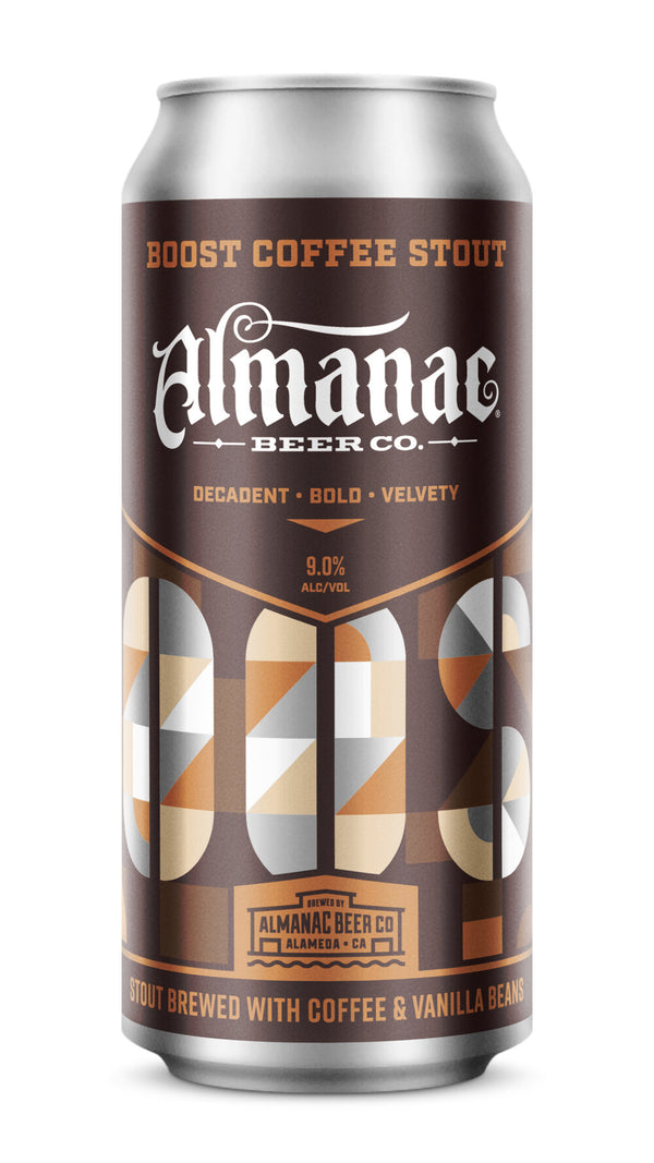 Almanac Boost Coffee Stout 16oz Can