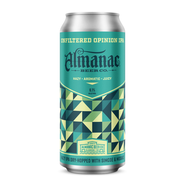 Almanac Unfiltered Opinion Hazy IPA 16oz Can