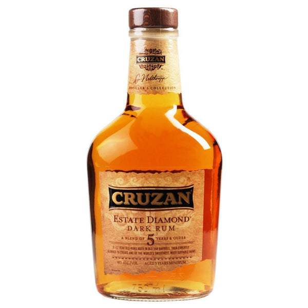 Cruzan Estate Diamond Dark Rum 750ml