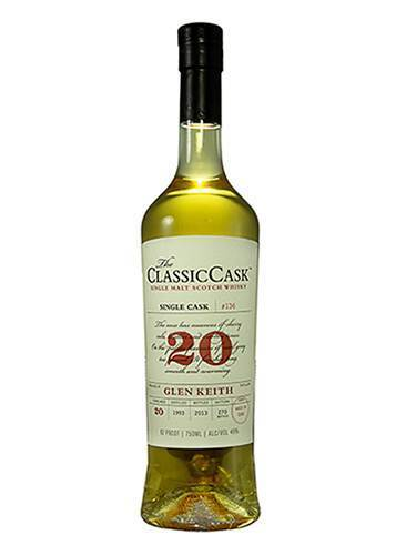 Classic Cask 20 Years Glen Keith 92 Proof 1993