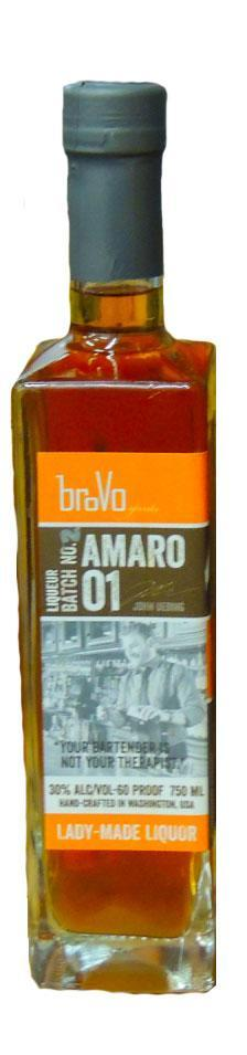 BroVo Amaro Batch No.1 Liqueur 750ml