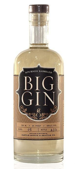 Big Gin Bourbon Barreled 750ml