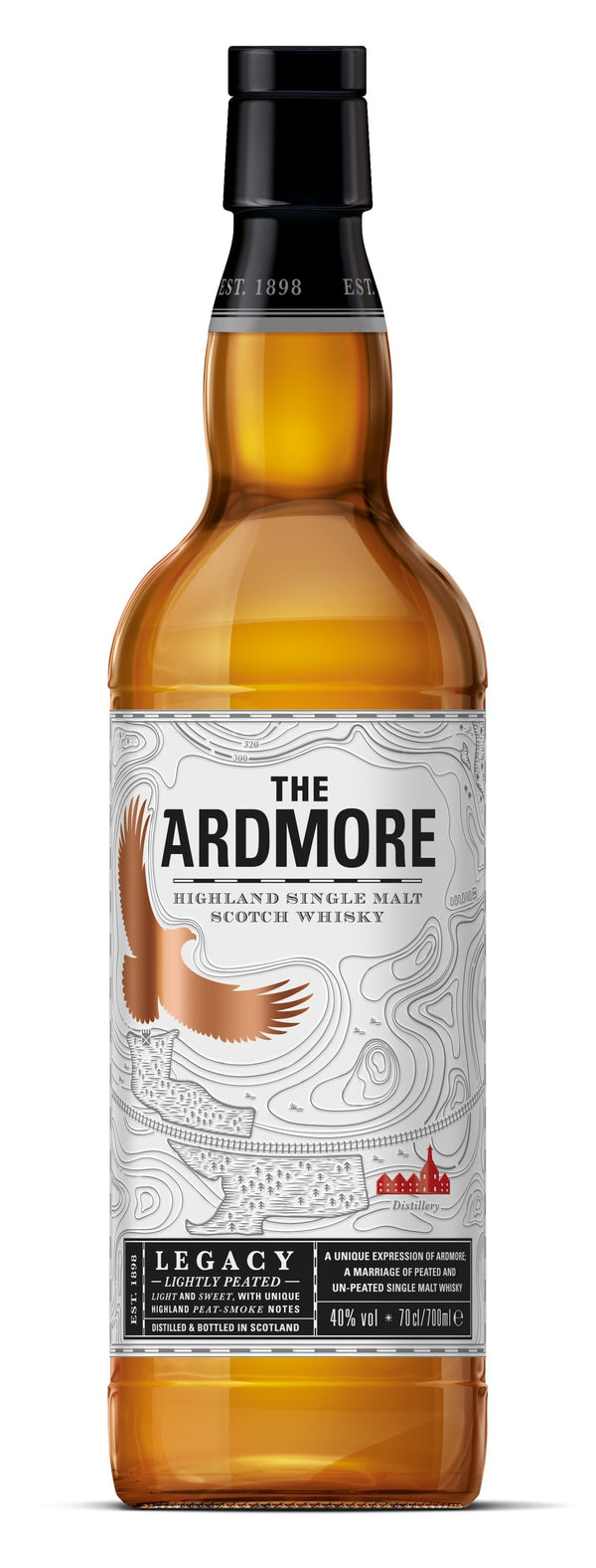 Ardmore Legacy Lightly Peated 750ml
