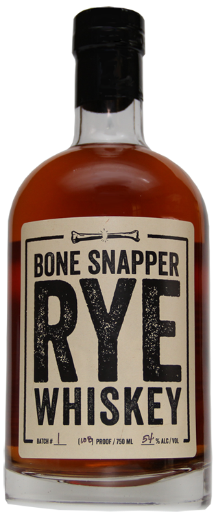 Backbone Snapper Rye Whiskey 750ml