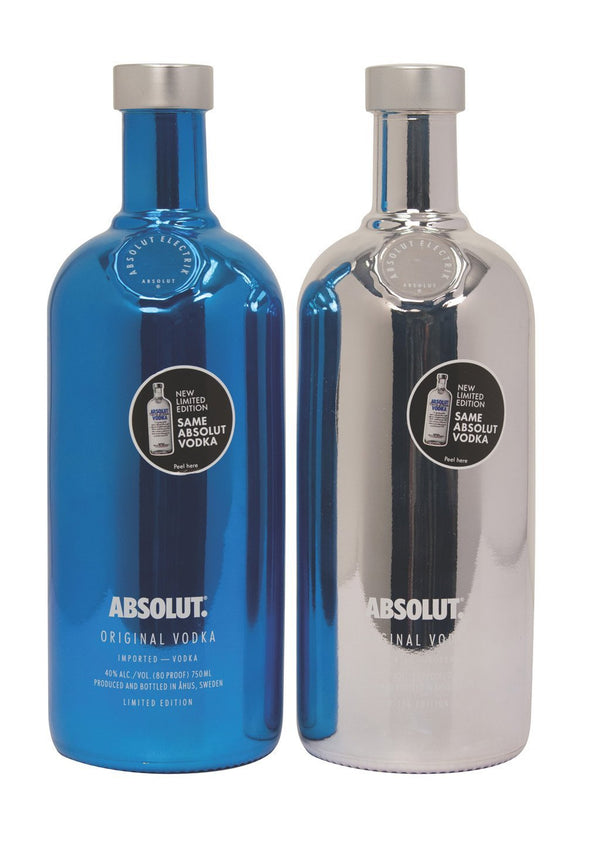 Absolut Electrik Limited Edition Vodka 750ml