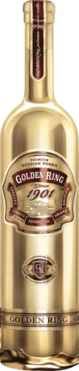 Golden Ring Vodka 750ml
