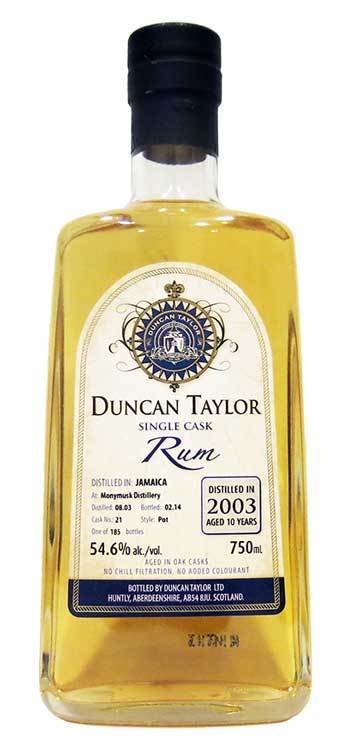 Duncan Taylor Monymusk Rum 2003 750ml