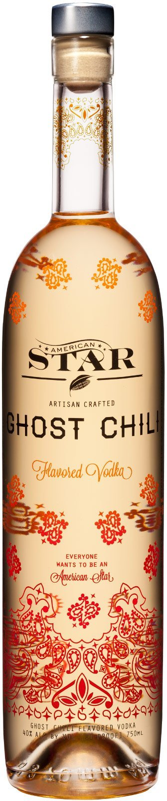 American Star Ghost Chili Vodka 750ml