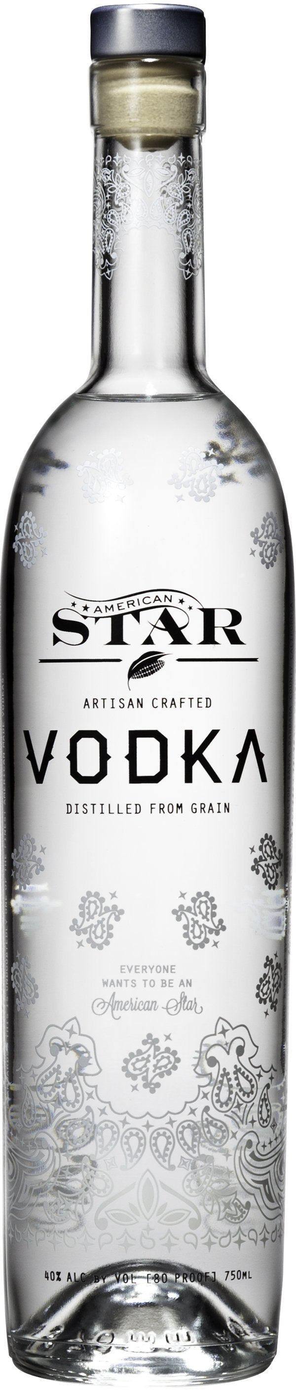 American Star Vodka 750ml
