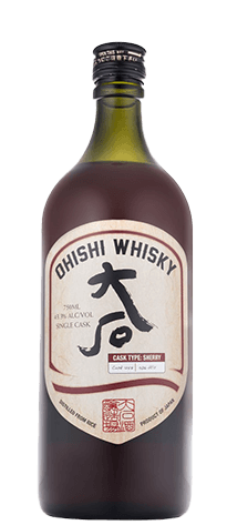 Ohishi Whisky Sherry Cask 8Yr 750ml