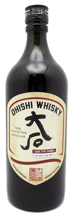 Ohishi Whisky Sherry Cask 750ml