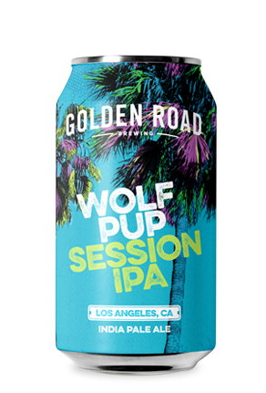 Golden Road Wolf Pup Session IPA 6pk Can