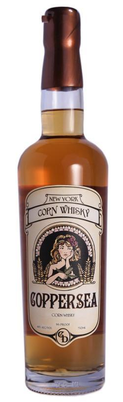 Coppersea Corn Whisky 96 Proof  750ml