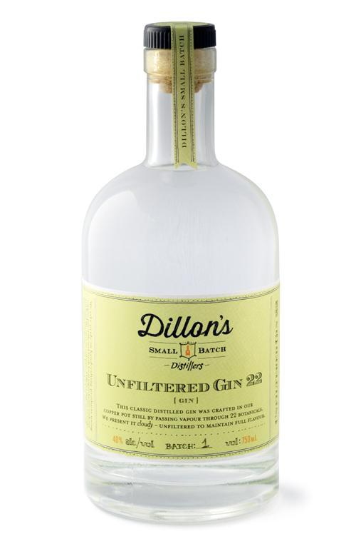 Dillon's Unfiltered Gin 22 750ml