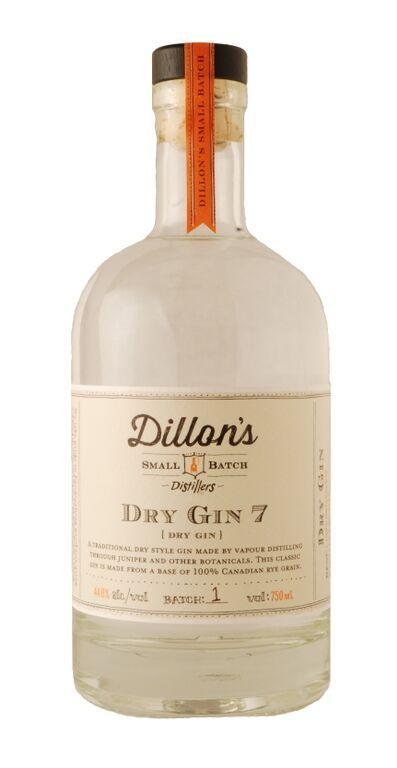 Dillon's Small Batch Dry Gin 7 750ml