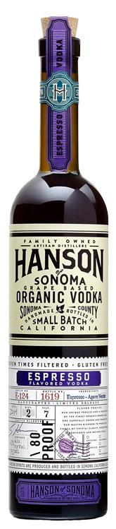 Hanson Organic Espresso Vodka 750ml