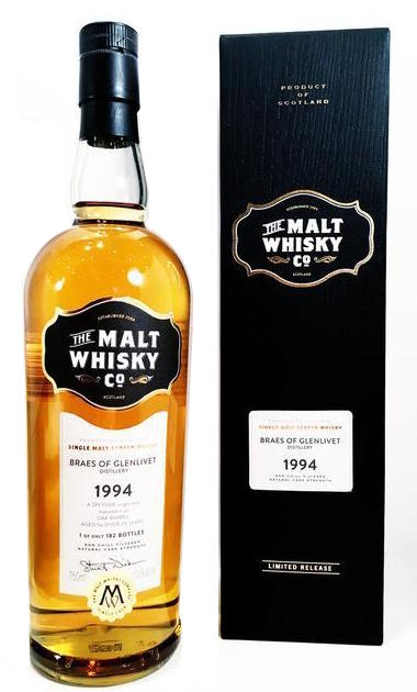 The Malt Whisky Co. Braes of Glenlivet 1994 750ml