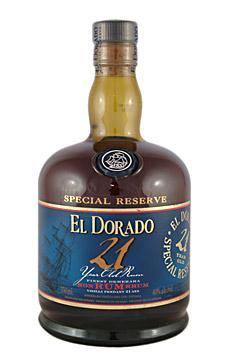 El Dorado Rum 21 Yrs. 750ml